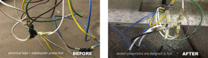 Electrical Before and After