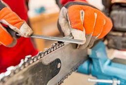Chain Saw Blade Sharpening & Repair