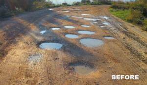 Potholes-Before