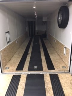 Trailer Customization on a 2019 27ft Enclosed Trailer